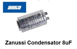 Zanussi Condensator 8uF Wasdroger