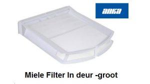 Miele Filter In deur -groot