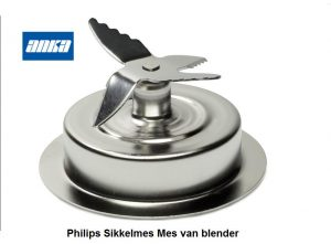 Philips RI2934/01 Sikkelmes ,Philips Sikkelmes van keuken Machine,Philips accesoires Keukenmachine.Philips mes Keuken Machine,Philips mes van Blender