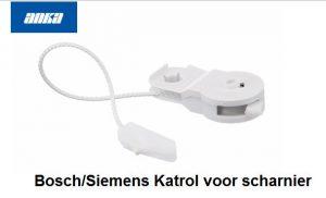 Bosch/Siemens Katrol voor scharnier