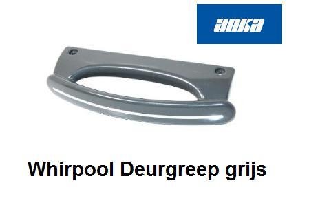 Whirlpool 481249818662 Handgreep van Deur verkrijgbaar bij Anka Onderdelen
