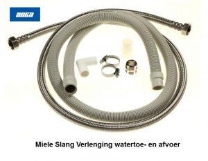 6390850 Miele Slang Verlenging watertoevoer- en afvoer Vaatwasmachine