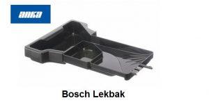 Bosch Lekbak Opvangbak water-