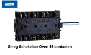 Smeg Schakelaar Oven 15 contacten verkrijgbaar bij Anka
