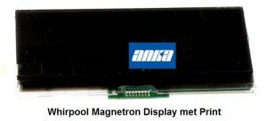 Whirpool Magnetron Display met Print. Origineel Whirlpool Magnetron Onderdelen, AMW594, DMCG7245, AMW588 481213068959,Whirlpool Magnetron Onderdelen,,Whirlpool Display Magnetron, Onderdelen Whirpool Magnetron,,Whirlpool Print Magnetron