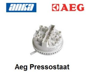 AEG Pressostaat/ Niveauregelaar,AEG Pressostaat/ Niveauregelaar ,AEG Pressostaat Wasmachine 2 niveau's, 7 contacten,AEG Niveauregelaar Wasmachine Originele Aeg Wasmachine Onderdelen Origineelnummer 1
