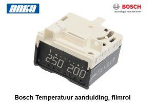 Bosch-Siemens Schakelaar Temperatuur aanduiding-