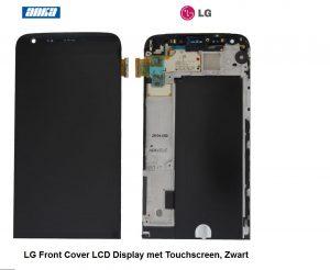 LG Front Cover LCD Display met Touchscreen, Zwart Origineel LG Smartphone onderdelen, H850 ACQ88809161,LG Complete Display LCD+Touchscreen ,LG Smartphone Display