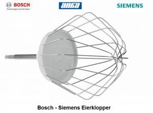 Bosch Garde Eier klopper,  Origineel Bosch,MUM56340, MUM4405, MUM4407,00650543- 650543, Bosch Keukenmachine accessoires, Siemens Keukenmachine accessoires, Siemens  Garde Eier klopper ,