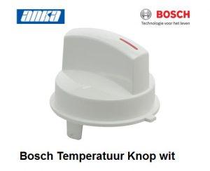 Bosch Knop Draaiknop temperatuur wit 181431