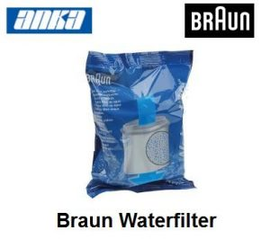 Braun Water filter