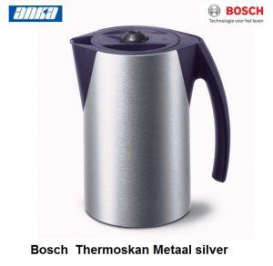 Bosch Thermoskan Metaal silver-