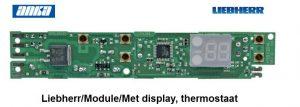 Liebherr/Module/Met display, thermostaat,6114641 Liebherr/Module/Met display, thermostaat/GP1456,  Origineel Liebherr Geschikt voor o.a. • GP1366-21-• GP1366-21A-• GP1366-21E • GP1366-21F-• GP1466-22-• GP1466-22D-• GPes1466-22