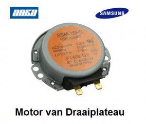 Samsung Magnetron Motor van Draaiplateau verkrijgbaar bij Anka Onderdelen