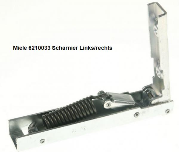 Miele 6210033 Scharnier Links/rechts verkrijgbaar bij Anka
