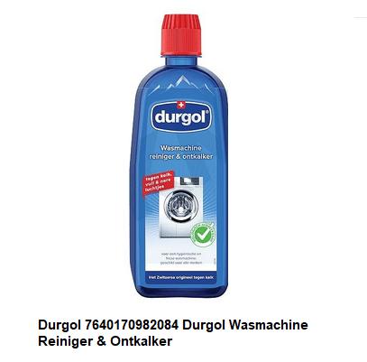 Durgol 7640170982084 Durgol Wasmachine Reiniger & Ontkalker verkrijgbaar bij Anka