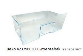 Beko 4237960300 Groentebak Transparant verkrijgbaar bij ANKA