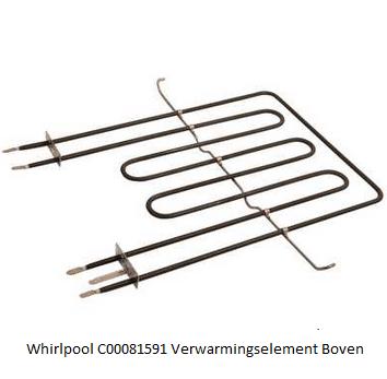 Whirlpool C00081591 Verwarmingselement Boven verkrijgbaar bij ANKA
