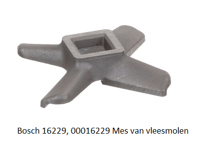 Bosch 16229, 00016229 Mes van vleesmolen verkrijgbaar bij ANKA
