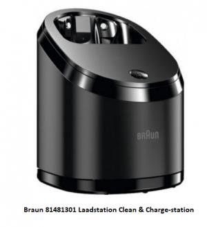 Braun 81481301 Laadstation Clean & Charge-station verkrijgbaar bij ANKA