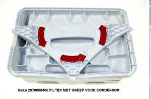 Beko 2978600400 Filter condensor verkrijgbaar bij ANKA