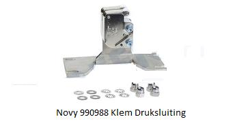 Novy 990988 Klem Druksluiting verkrijg baar bij ANKA
