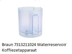 Braun 7313211024 Waterreservoir Koffiezetapparaat verkrijgbaar bij ANKA