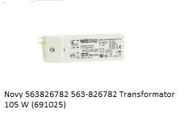 Novy 563826782 563-82 verkrijgbaar bij ANKA782 Transformator 105 W (691025)