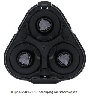 Philips 422203625761 Aandrijving scheerkoppen verkrijgbaar bij ANKA