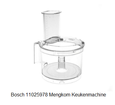 Bosch 11025978 Mengkom Keukenmachine verkrijgbaar bij ANKA
