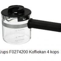 Krups F0274200 Koffiekan 4 kops