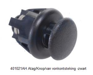 401021AH Atag/Knop/van vonkontsteking -zwart verkrijgbaar bij Anka