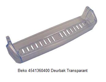 Beko 4541360400 Deurbak Transparant verkrijgbaar bij ANKA