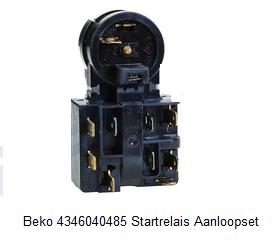 Beko 4346040485 Startrelais Aanloopset verkrijgbaar bij ANKA