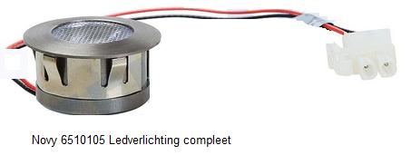 Novy 6510105 Ledverlichting compleet verkrijgbaar bij Anka