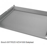 Bosch 00776525 HZ541000 Bakplaat