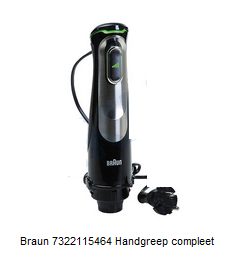 Braun 7322115464 Handgreep staafmixer verkrijgbaar bij Anka