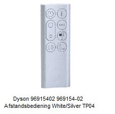 Dyson 96915402 969154-02 Afstandsbediening White/Silver TP04 verkrijgbaar bij Anka
