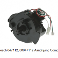 Bosch 00647112 Aandrijving Compleet