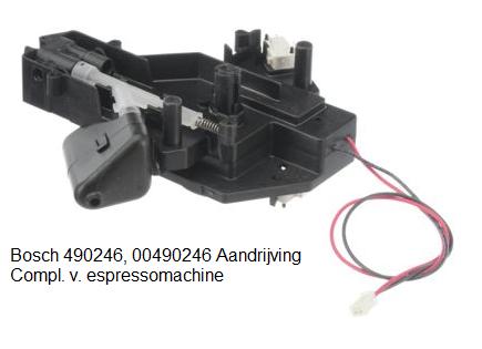 Bosch 490246, 00490246 Aandrijving Compl. v. espressomachine verkrijgbaar bij Anka
