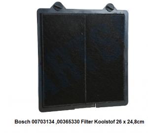00365330-00703134 Bosch Afzuigkap Koolstoffilter 26 x 24,8 verkrijgbaar bij Anka