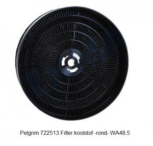 Pelgrim 722513 Filter koolstof -rond- WA48.5 verkrijgbaar bij ANKA