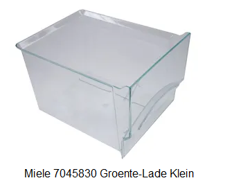 Miele 7045830 Groente-Lade Klein verkrijgbaar bij ANKA