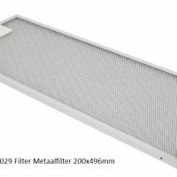 Inventum 40600900029 Filter Metaalfilter 200x496mm