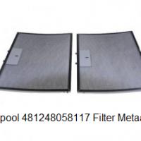 Whirlpool 481248058117 Filter Metaalfilter