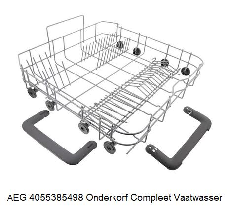 AEG 4055385498 Onderkorf Compleet Vaatwasser verkrijgbaar bij Ankar