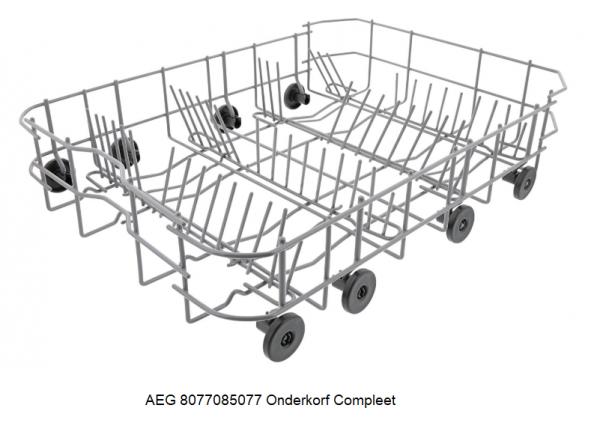 AEG 8077085077 Onderkorf Compleet verkrijgbaar bij Anka