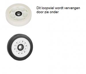 Beko 2987300200 Loopwiel voor trommel verkrijgbaar bij ANKA