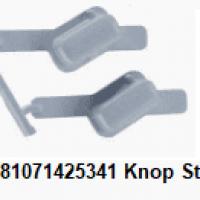 Whirlpool 481071425341 Knop Startknop, Wit, Bediening