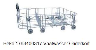 Beko 1763400317 Vaatwasser Onderkorf verkrijgbaar bij ANKA